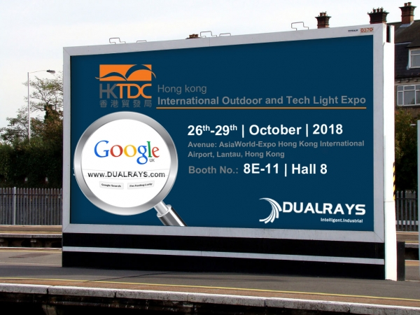DUALRAYS invite you to visit HK International Outdoor and Tech Light Expo