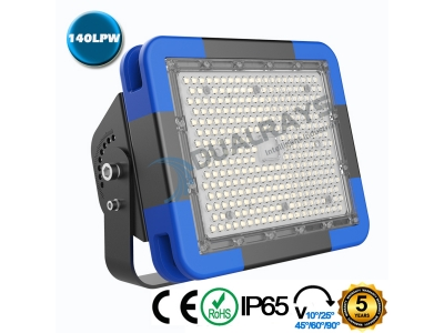 Dualrays F5 Series 200W IP66 Stadium LED Flood Light,140LPW Efficiency,5 Years Warranty,different beam angle especially for sport lighting